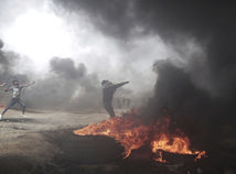 Izrael Palestínčania Gaza protesty