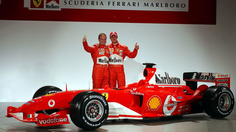 Michael Schumacher, Rubens Barrichello