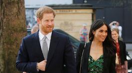 Princ Harry a jeho snúbenica Meghan Markle