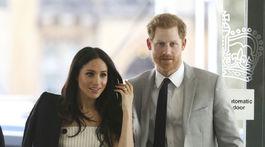 Princ Harry a jeho snúbenica Meghan Markle na stredajšom podujatí v Londýne.
