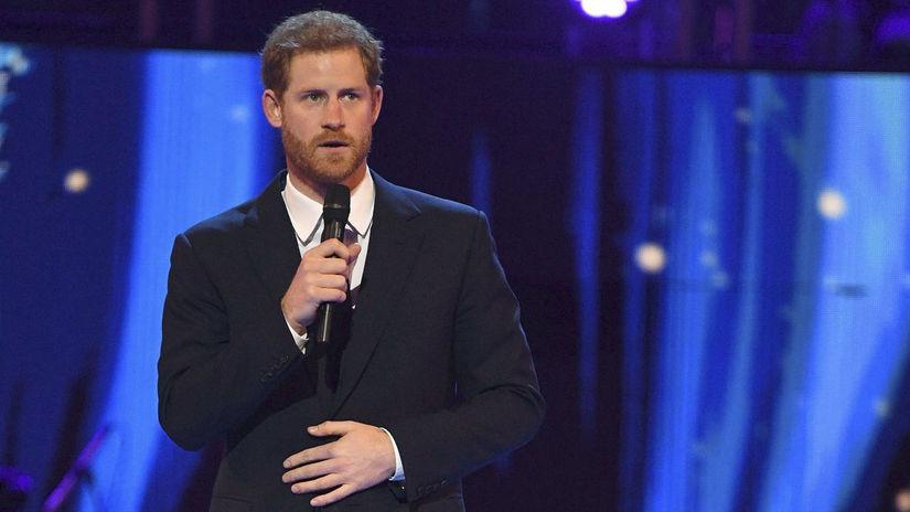 Princ Harry sa prihovoril hosťom pri...