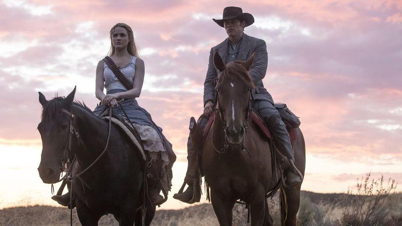 westworld, james marsden, Evan Rachel Wood