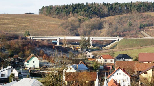 D1, Hričovské Podhradie, Lietavská Lúčka