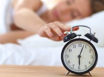 hodiny, budík, spánok