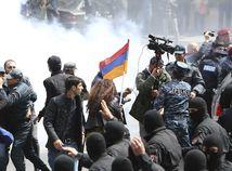 jerevan, arméndko, protest