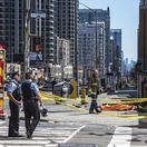 Kanada Toronto auto chodci zrazení