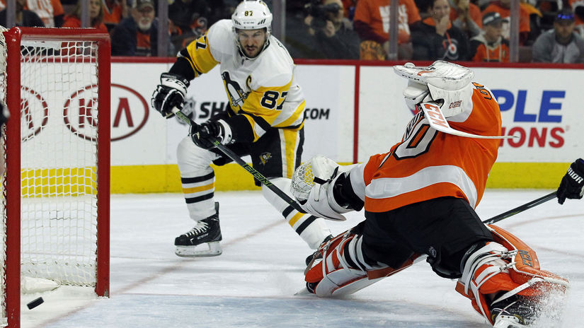 Penguins Flyers Hockey NHL Crosby