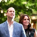Princ William a jeho manželka Kate
