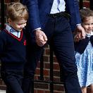 Charlotte, William, George