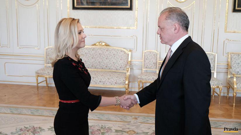 Denisa Saková Andrej Kiska