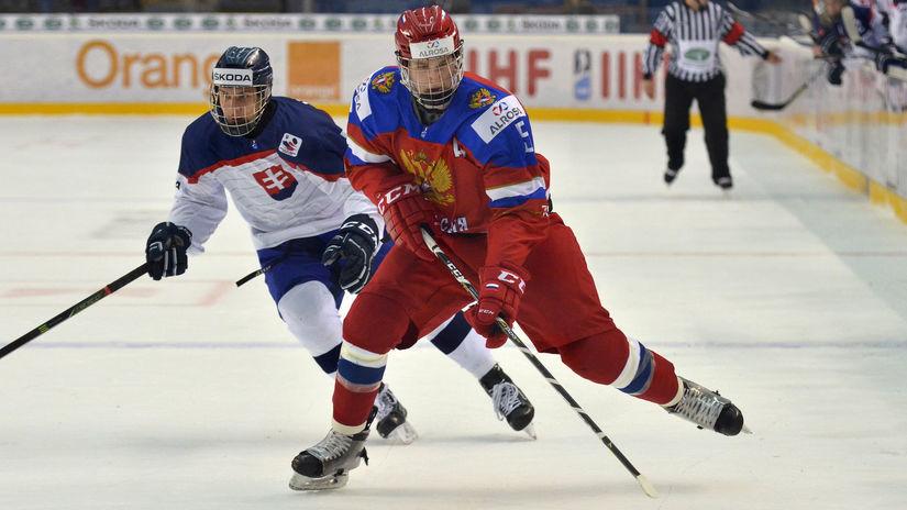 HOKEJ: Rusko - Slovensko