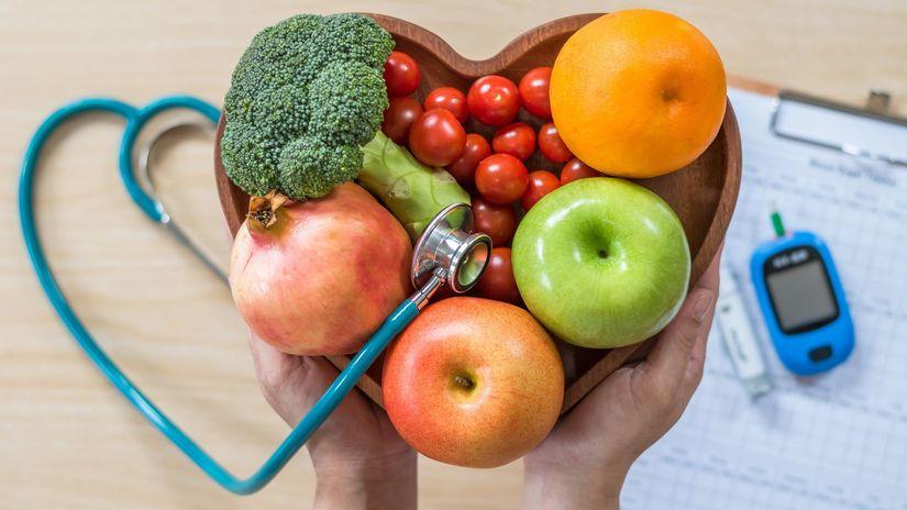 srdce, ovocie, zelenina, zdravie