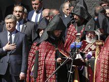 Arménsko genocída spomienka Karapetian