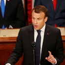 Emmanuel Macron, Kongres, USA