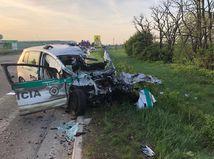 Tragická nehoda pri Galante si vyžiadala život 31-ročného policajta