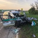 polícia, nehoda