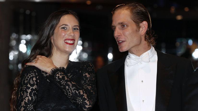 Andrea Casiraghi a jeho manželka Tatiana Santo Domingo