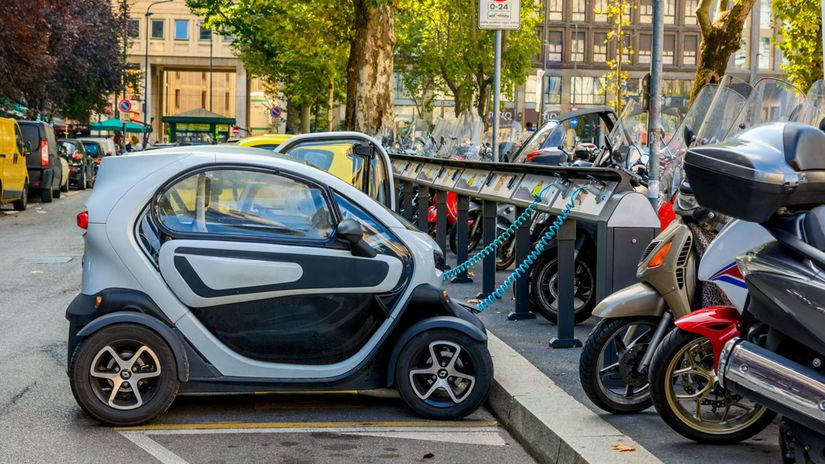 auto, elektromobil, elektrické vozidlo