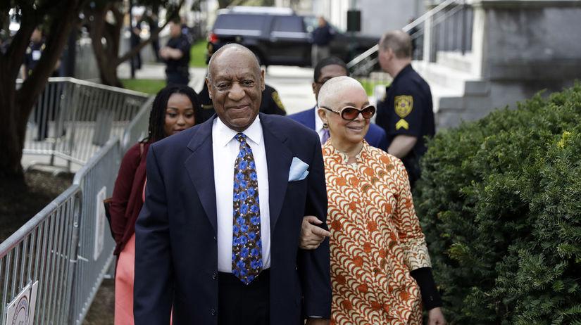 Bill Cosby a jeho manželka Camille