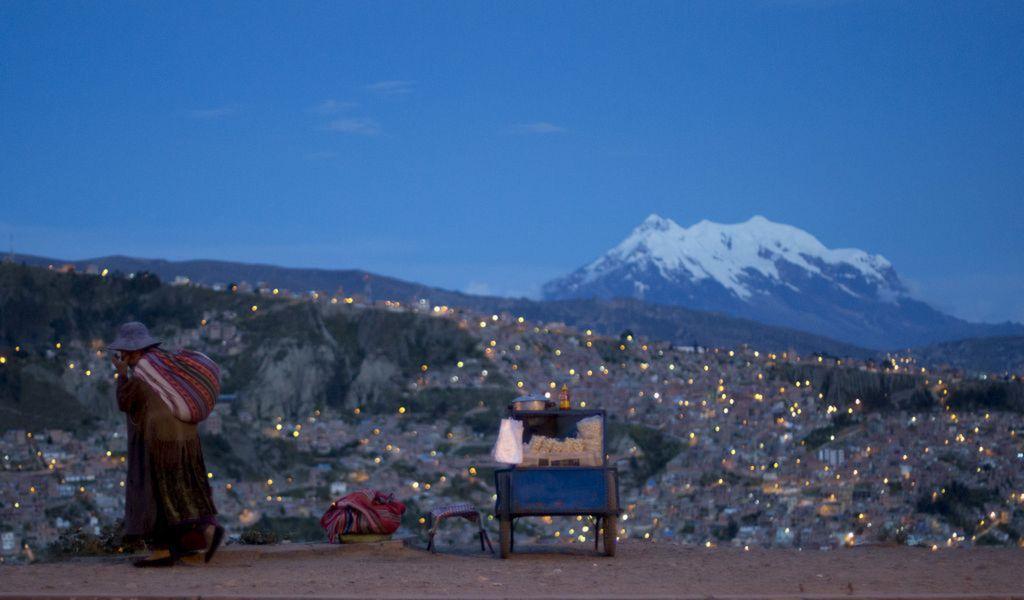 Bolívia, hory, La Paz