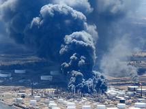 HUSKY ENERGY-REFINERY, výbuch, USA, rafinéria, Wisconsin