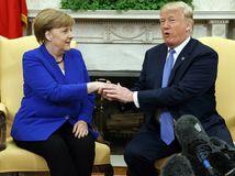 Trump, USA, Merkelová, Nemecko