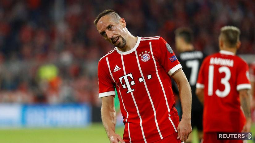 SOCCER-CHAMPIONS-BAY-MAD/ Ribéry