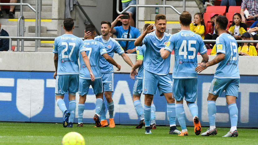 Slovan, radosť, gól