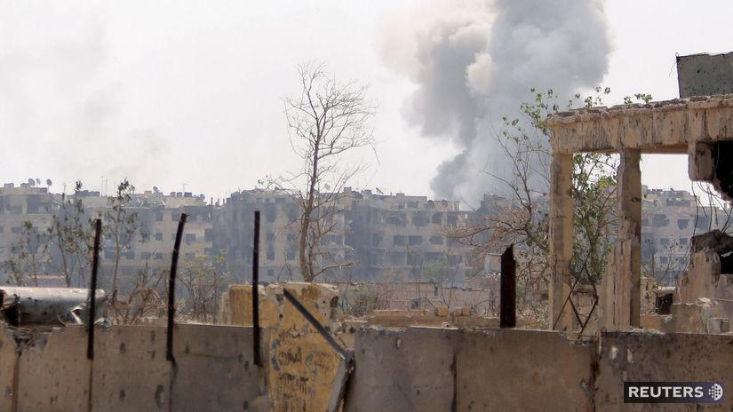 sýria, damask