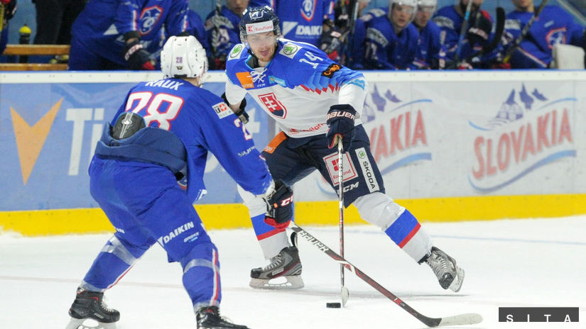 HOKEJ: Slovensko - Francúzsko Mikúš