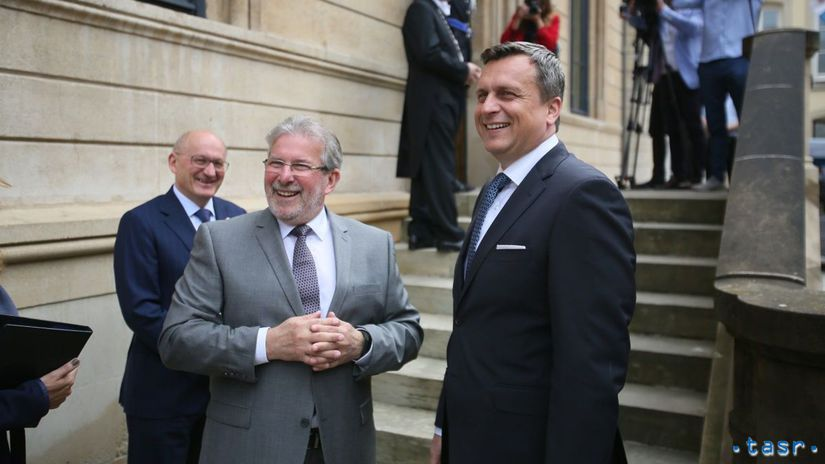 Luxembursko SR Danko návšteva oficiálna