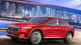 Mercedes-Maybach Vision Ultimate Luxury Concept - 2018