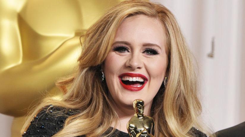 Rok 2013: Speváčka Adele