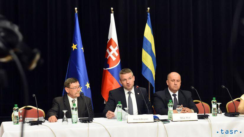 SR Vranov vláda schôdza rokovanie výjazdové
