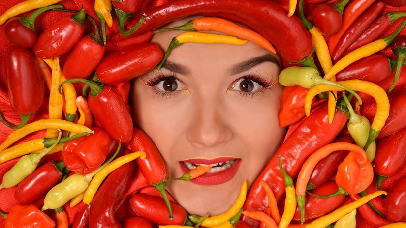 žalúdok, záha, pálenie, paprika, papričky,...
