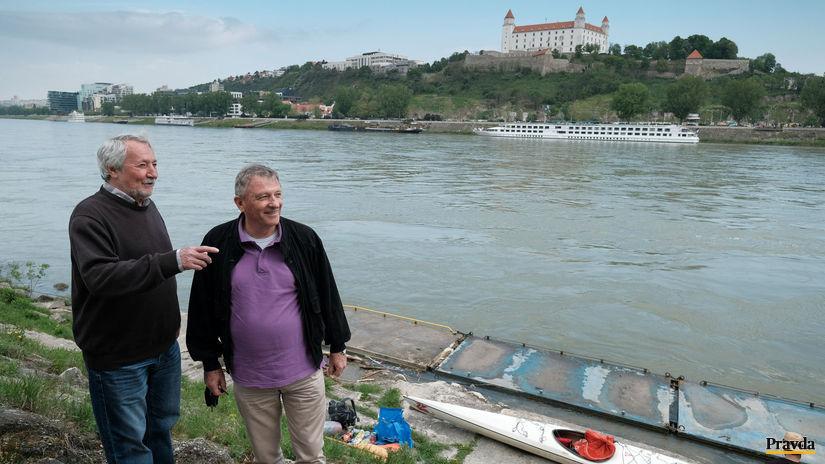 Dunaj, veslári