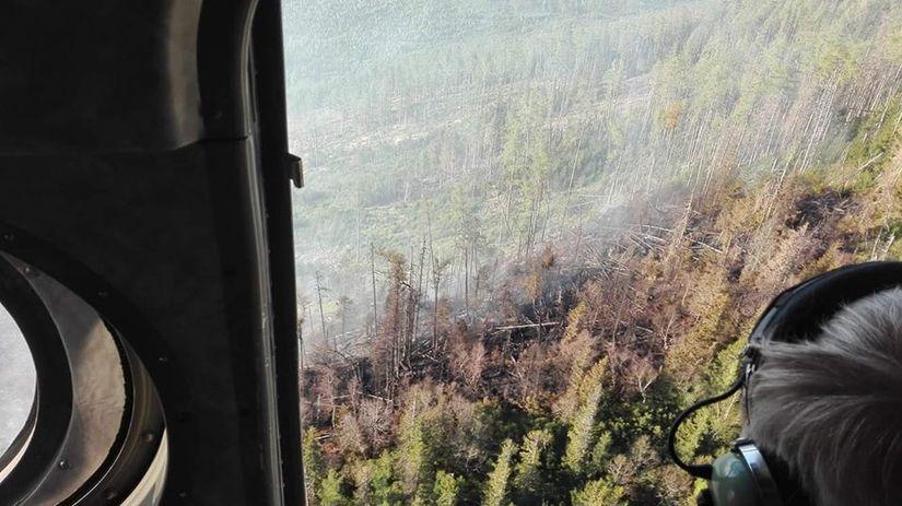 požiar tatry kežmarské žľaby
