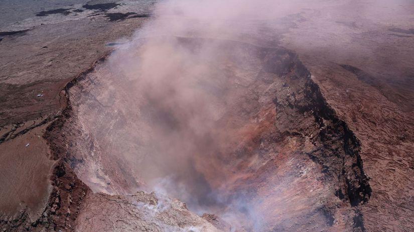 Havaj sopka zemetrasenie