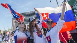 Slovensko, Švajčiarsko, fanúšikovia