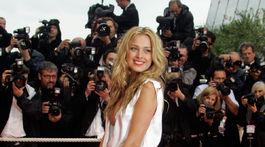 Česká modelka Petra Němcová na festivale v Cannes v roku 2008.