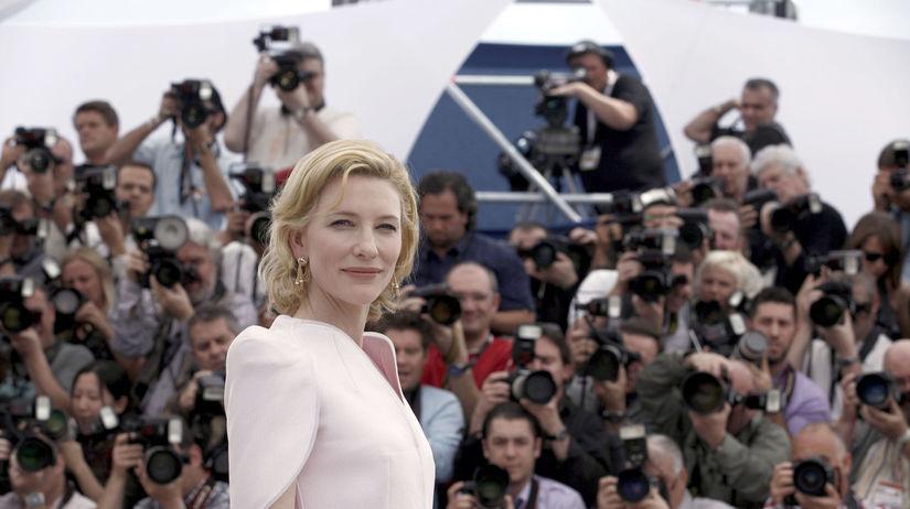 Herečka Cate Blanchett na archívnom zábere z...