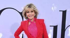 Herečka Jane Fonda vyzerala na premiére novinky Book Club úžasne.