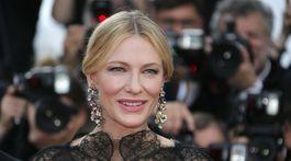 Herečka Cate Blanchett, šéfka festivalovej poroty 71. ročníka MFF Cannes.