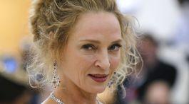 Herečka Uma Thurman sa inšpirovala historickým obdobím.