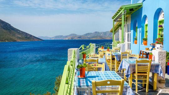 ostrov, dovolenka, stôl, stolovanie,...