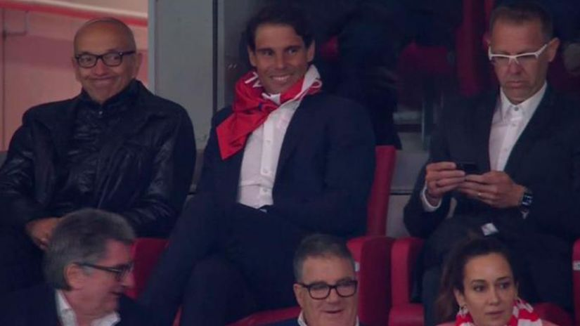 Rafael Nadal, Atlético Madrid