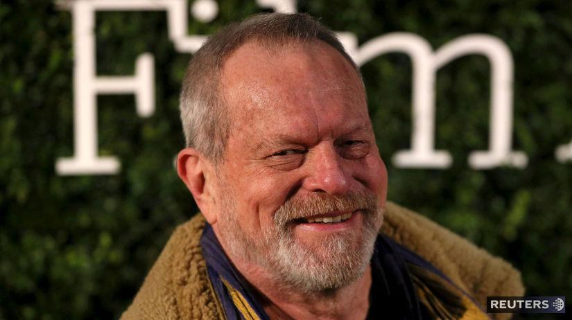 Režisér Terry Gilliam na archívnom zábere.