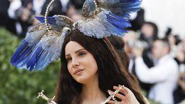 Speváčka Lana Del Rey
