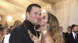 Zamilovaní manželia Tom Brady a Gisele Bundchen.