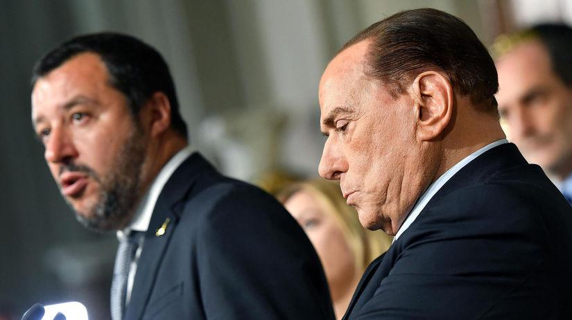 Berlusconi, salvin